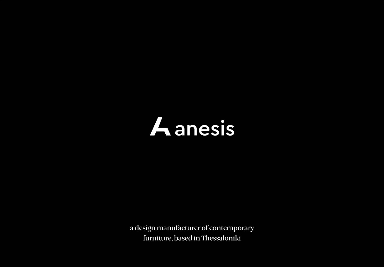 Anesis Catalogue 2020